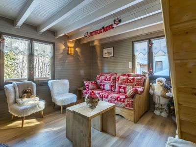 Photo for Cosy chalet, slopes nearby, Wi-Fi access