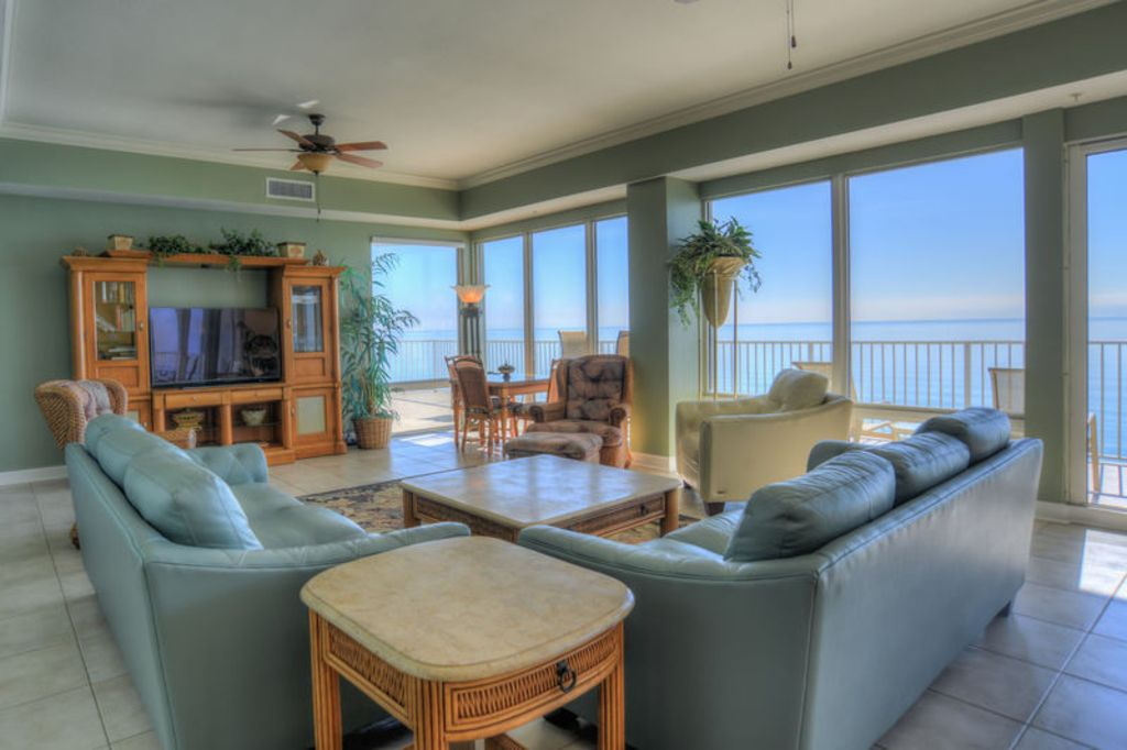 Fabulous Gulf Front Marisol Penthouse 5 Bedroom Condo Huge Balcony Panama City Beach Florida