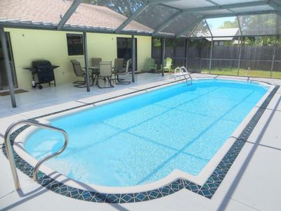 Photo for Lovely Pool Home close to the Beaches