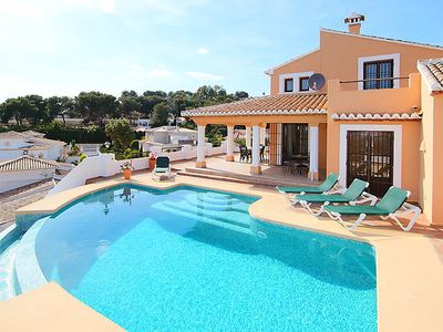Photo for 3 bedroom Villa, sleeps 6 with Pool and Walk to Beach & Shops
