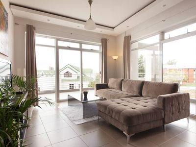 Photo for Explore Cape Town from this trendy, spacious condo, large patio w/ amazing views