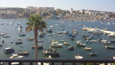"Photo for The Sunshine Court St Flat 3 Pauls Bay (Xemxija in maltese) meaning ""Sunny Bay""."