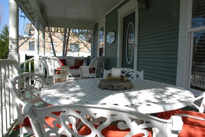 Front porch - seating for 8