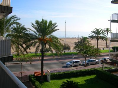 Photo for Gandia Playa: Apartment on the beach of Gandia