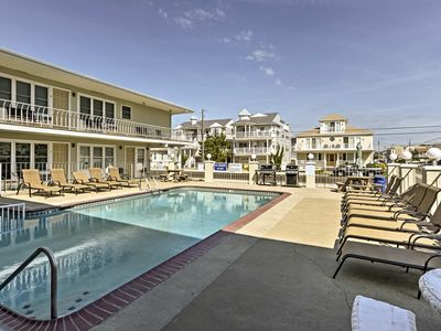 Photo for NEW! Cozy Wildwood Condo by Pool-Block from Beach