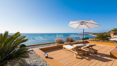 Photo for Villa Magistrala Seafront - 5 Bedroom Villa - Private Beach Area - Modern and Luxurious