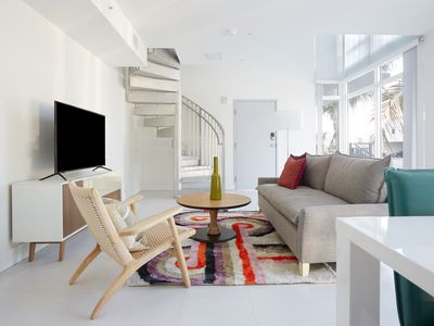 Photo for Sonder | Grove 27 | 1BR Loft + Spiral Staircase