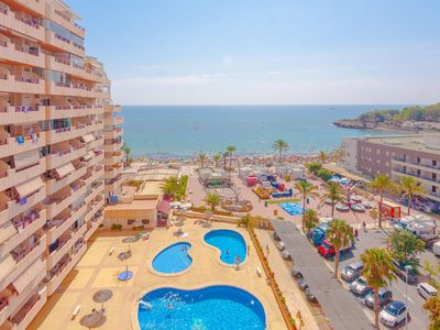Photo for ZAFIRO, apartment for 4 guests on the Levante beach, Calp, Alicante