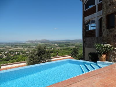 Photo for 3 bedroom house with private pool in Mas Tomasí, fantastic panoramic views.