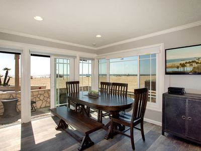 Photo for Newly Redone Oceanfront Single Family Home w/ Patio on the Boardwalk!