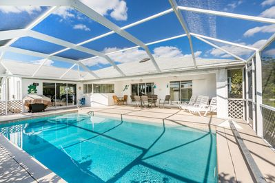 Pool - Welcome to Port Charlotte! Pristine pool and screened patio at this home, which is professionally managed by TurnKey Vacation Rentals.