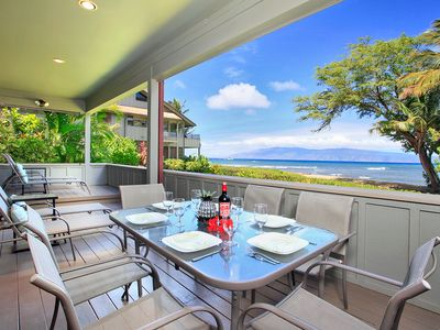 Photo for Kahana Village #42 Ocean Front Luxury
