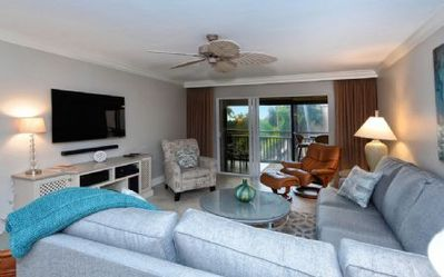 Photo for Buttonwood 432 - 3 Bedroom Condo with Private Beach with lounge chairs & umbrella provided, 2 Pools, Fitness Center and Tennis Courts.