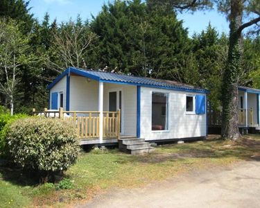 Photo for Camping Pen Palud *** - Chalet Iliade 3 Rooms 4 People