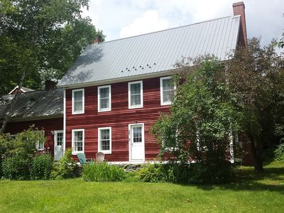 Photo for Farmhouse at Viking Nordic, 72 acres, quiet country road, sleeps 18 w/Apt added