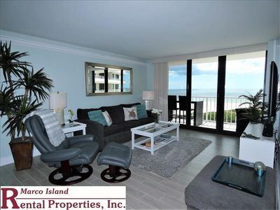 Photo for South Seas T4-1805: Totally Remodeled Beachfront Condo; Outstanding View!