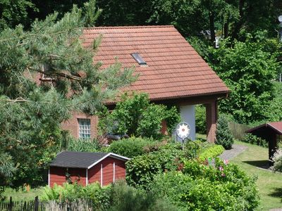 Photo for Holiday house with free wifi and lake near the Müritz National Park