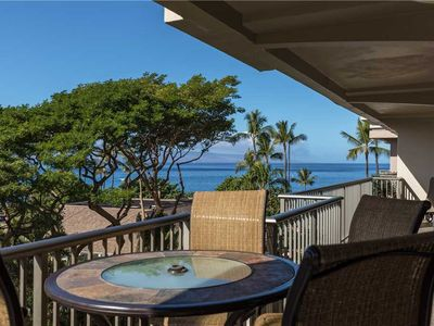 Photo for Whaler Resort #573 in Kaanapali! Partial Ocean View!