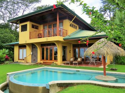 Photo for Aracari... .Panoramic Ocean and Jungle views, Whales Tail, Pool, A/C.....5 Star!