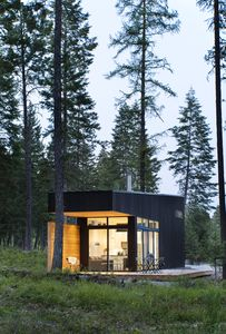 Photo for Modern Tiny Home in Woods (The Blackfoot)