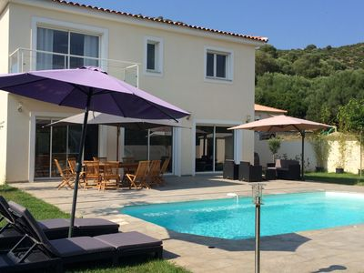 Photo for VILLA WITH HEATED SWIMMING POOL ST FLORENT