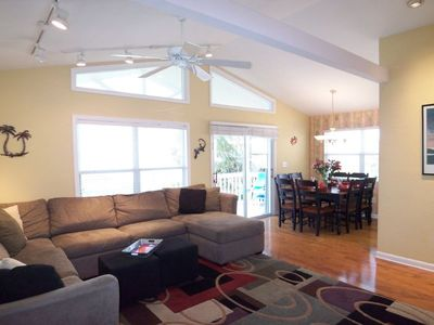 Photo for FL Sundowner Upscale Beach House Directly on Gulf with Beautiful Beach