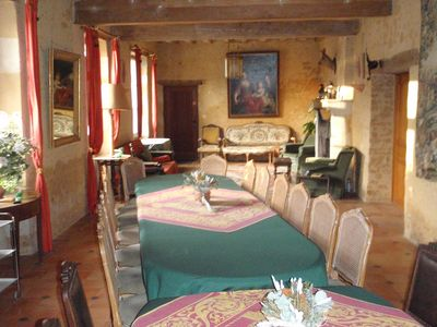 Charming House Dependence Of A Castle, 6 People, 50m2 Living Room, Large  Park