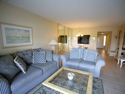 Photo for Leave The Hi-Rise Behind- Ground Floor Beachfront Condo