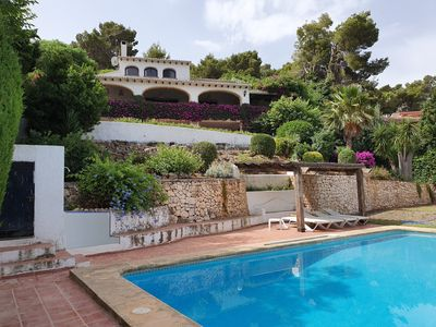 Photo for Luxurious Villa Tosalet area with panoramic sea views