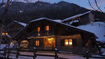 Photo for Cozy chalet for 9 people in an old district of Morzine