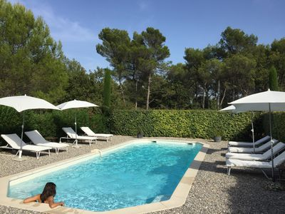Photo for 3 *** rental pool, wifi, parking, 1 to 4 people near Aix-en-Provence-Fuveau