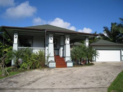 Photo for New Hanalei Hawaiian-Style Home  - TVNC 5160