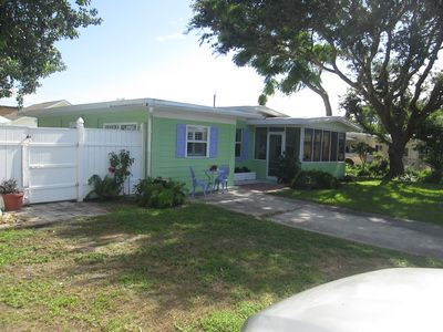 Photo for Charming 3 Bedroom Home. Sleeps 6.  1/2 Block to Beach