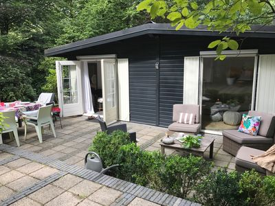 Photo for Holiday cottage with relaxed atmosphere in the Veluwe forest for 2-6 people