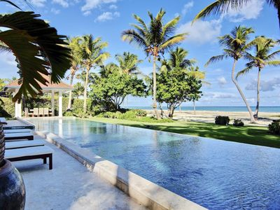 Photo for Views of the Turquoise Caribbean Sea, Heated Infinity Pool, World-Class Golf, Tropical Design, WIFI