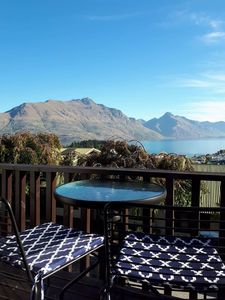 Photo for Situated just above Queenstown city, suitable for families or groups of friends
