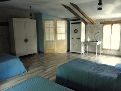 Photo for LA CHARMENTAISE Charming B&B at the gates of La Rochelle & the Marais Poitevin