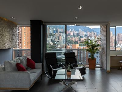 Photo for Luxury Apartment w/PANORAMIC Views 🌃 Lleras Park