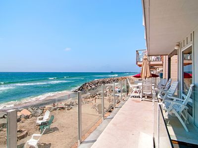 Photo for Oceanfront 3BR Condo w/ Stunning Views & Private Beach, 6.7 Miles to Legoland