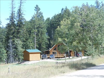 Photo for Creekside Cabin - Black Hills Vacation Home