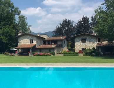 Photo for Villa of charm in Franciacorta with park and swimming pool