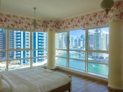 Photo for Breathtaking Marina penthouse few steps from JBR