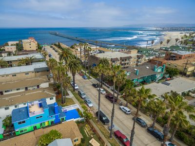 Photo for Ocean Beach gem! Walk to beach, pier, shopping, restaurants