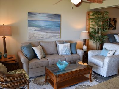 Photo for Land and Sea Motif - Beautiful - Oceanfront Studio