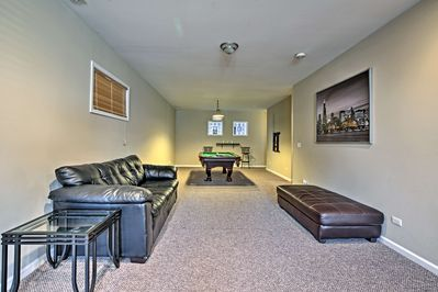 Complete with a furnished basement and rooftop deck, this home is 5-star.