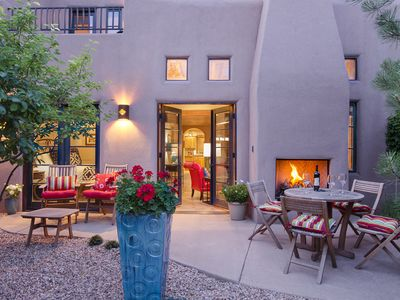 "Photo for Luxury in ""THE HEART OF"" Santa Fe! 3 Bed/3 Bath Townhouse 3 block walk to Plaza"