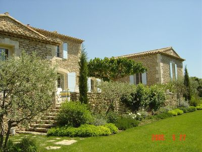 Photo for Magnificent villa in picturesque Gordes, beautiful view, within walking distance of castle.