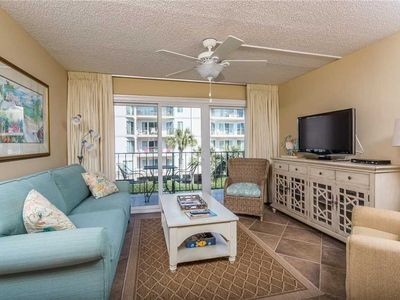 Photo for Spacious Oceanfront Condominium on St Simons! Pool,  Fitness Center, Tennis!