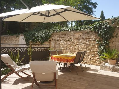 Photo for Apartment with garden between Nîmes and Montpellier, between beaches and Cévennes