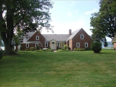 Luxurious Owasco Lake Front Home with Over 200 Feet of W/F